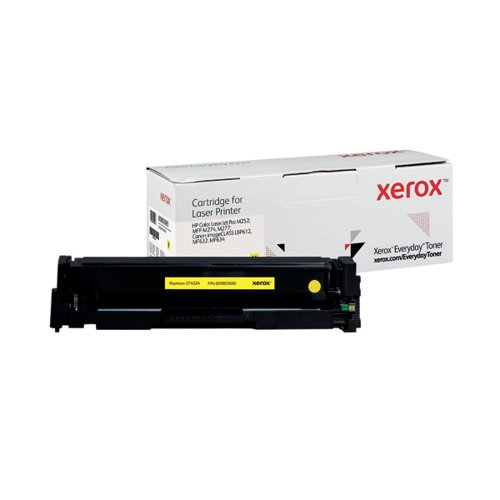 Xerox Everyday Replacement For CF402A/CRG-045Y Laser Toner Yellow 006R03690