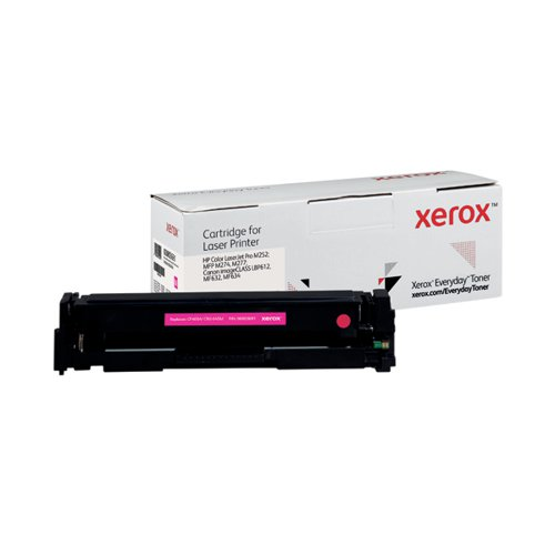 Xerox Everyday Replacement For CF403A/CRG-045M Laser Toner Magenta 006R03691