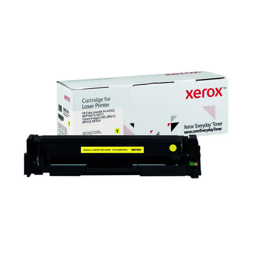 Xerox Everyday Replacement For CF402X/CRG-045HY Laser Toner Yellow 006R03694