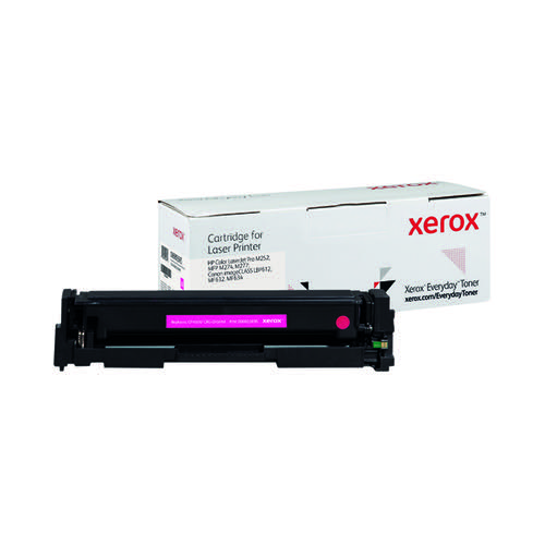 Xerox Everyday Replacement For CF403X/CRG-045HM Laser Toner Magenta 006R03695