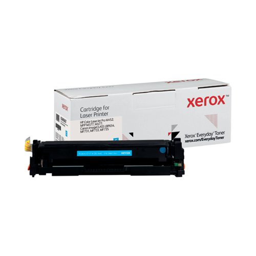 Xerox Everyday Replacement For CF411A/CRG-046C Laser Toner Cyan 006R03697