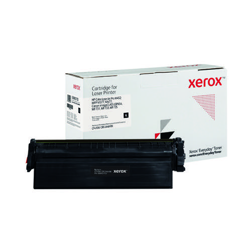 Xerox Everyday Replacement For CF410X/CRG-046HBK Laser Toner Black 006R03700