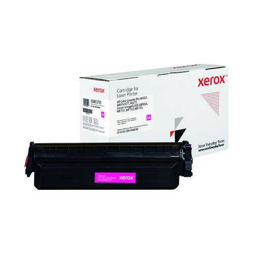 Xerox Everyday Replacement For CF413X/CRG-046HM Laser Toner Magenta 006R03703
