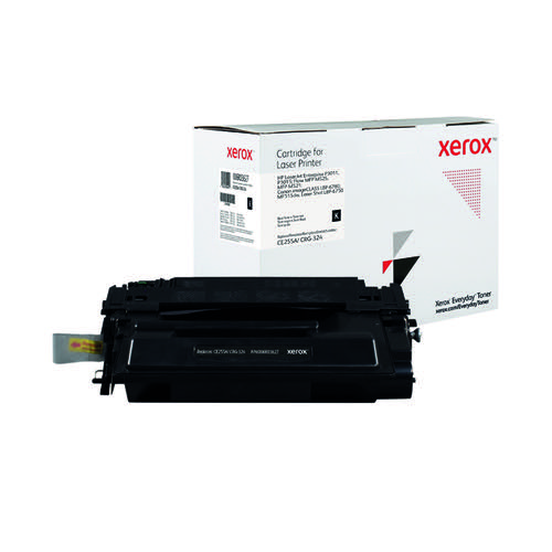 Xerox Everyday Replacement For CE255A/CRG-324 Laser Toner Black 006R03627