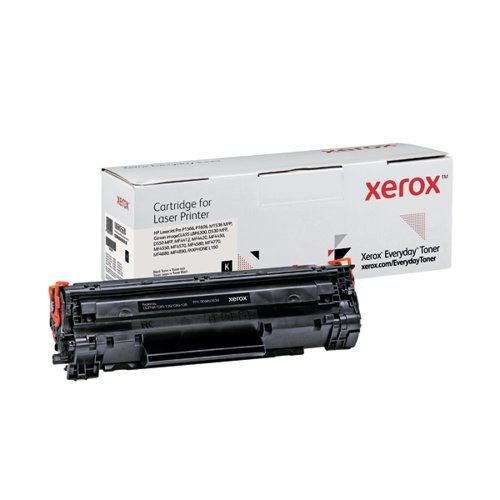Xerox Everyday Replacement For CE278A/CRG-126/CRG-128 Laser Toner Black 006R03630