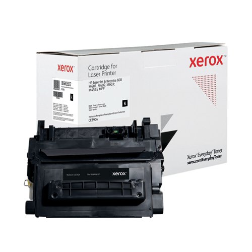 Xerox Everyday Replacement For CE390A Laser Toner Black 006R03632