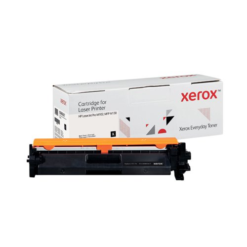 Xerox Everyday Replacement For CF217A Laser Toner Black 006R03637