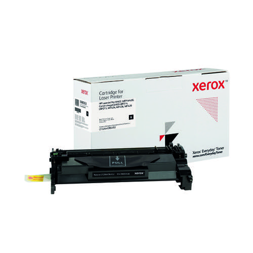Xerox Everyday Replacement For CF226A/CRG-052 Laser Toner Black 006R03638