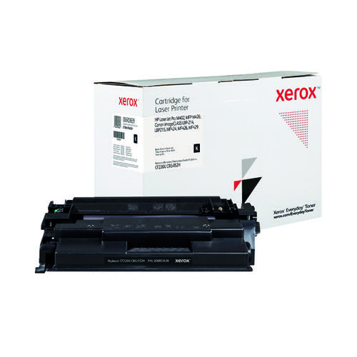 Xerox Everyday Replacement For CF226X/CRG-052H Toner Black 006R03639