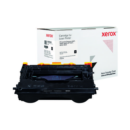 Xerox Everyday Replacement For CF237A Laser Toner Black 006R03642