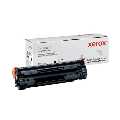 Xerox Everyday Replacement For CF283A Laser Toner Black 006R03650