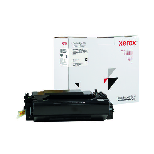 Xerox Everyday Replacement For CF287X/CRG-041H Laser Toner Black 006R03660