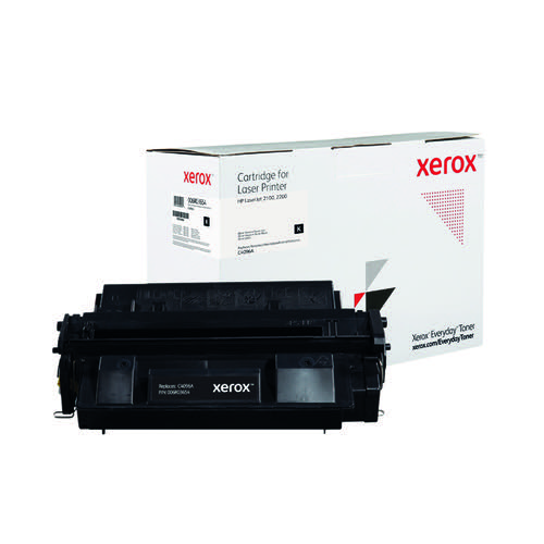 Xerox Everyday Replacement For C4096A Laser Toner Black 006R03654