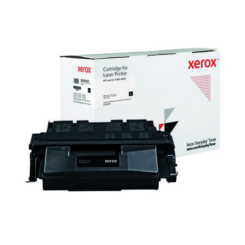 Xerox Everyday Replacement For C4127X Laser Toner Black 006R03655