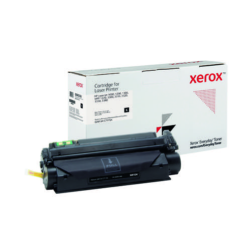 Xerox Everyday Replacement For Q2613A/C7115A Laser Toner Black 006R03660