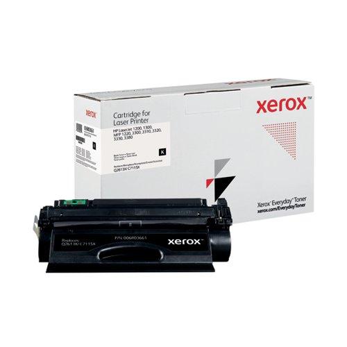 Xerox Everyday Replacement For Q2613X/C7115X Laser Toner Black 006R03661