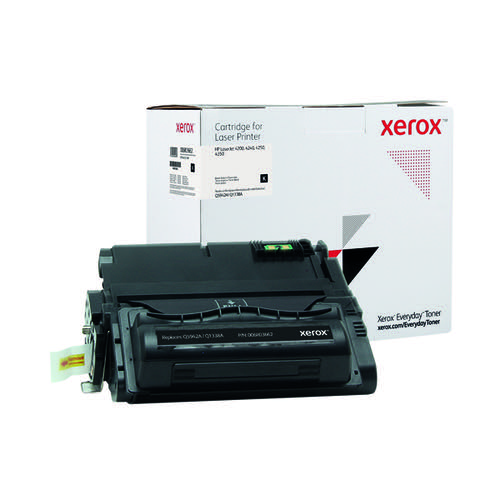 Xerox Everyday Replacement For Q5942A/Q1338AL Laser Toner Black 006R03662