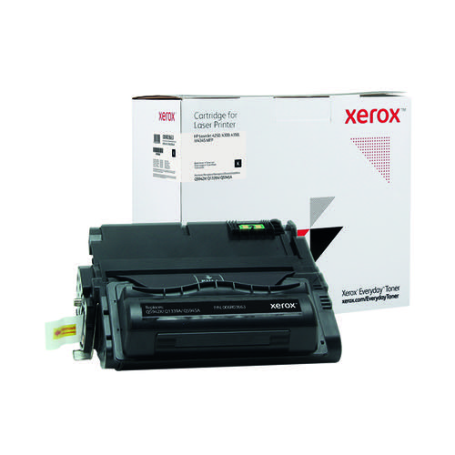 Xerox Everyday Replacement For Q5942X/Q1339A/Q5945A Laser Toner Black 006R03663