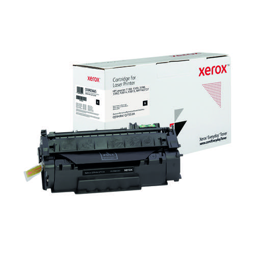 Xerox Everyday Replacement For Q5949A/Q7553A Laser Toner Black 006R03665