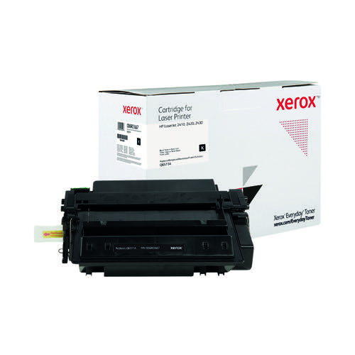 Xerox Everyday Replacement For Q6511A Laser Toner Black 006R03667