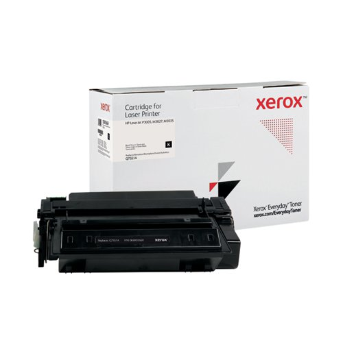 Xerox Everyday Replacement For Q7551A Laser Toner Black 006R03669