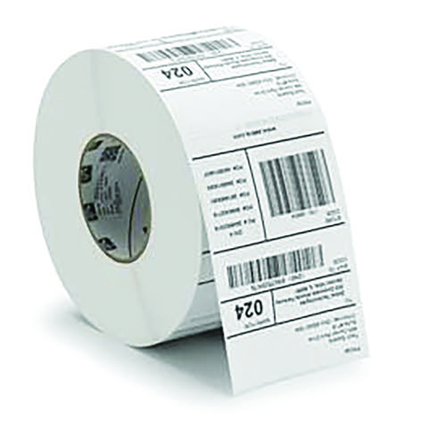 Zebra Label Paper Industrial Prf 1000D 102x152mm (Pack of 4) 3007096-T
