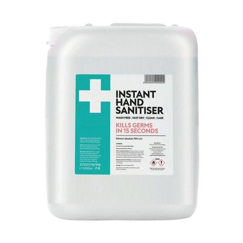 Fourplus 70% Hand Sanitiser 5L Jerry Can ZI5060748723178
