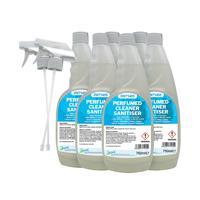 2Work Perfumed Spray Wipe Sanitiser 750ml (Pack of 6) 211SVW