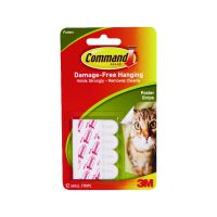 3M Command Adhesive Poster Strips (Pack of 72) 17024
