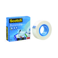 Scotch 19mm x 33m Removable Tape 8111933