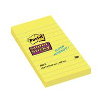 a1573530b46 Post-it Super Sticky Meeting Notes 149x98mm Neon Assorted (Pack of 4 ...