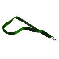 Announce Textile Badge Necklace Green Pack of 10 AA03631