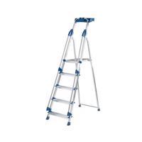 Werner Blue Seal 5 Tread Professional Aluminium Step Ladder 7050518