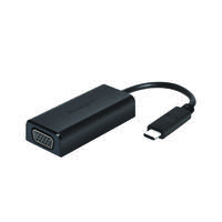 USB-C To VGA Adapter Black K33994WW