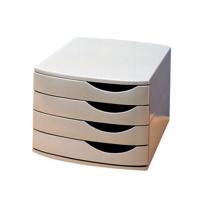 Jalema 4 Drawer Desktop Set Grey A6862-541