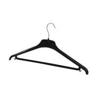 Alba Plastic Coat Hanger Black (Pack of 20) PMBASICPL