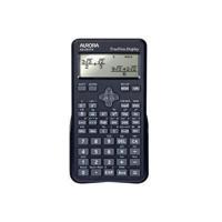 Aurora Black Dot Matrix Scientific Calculator AX595TV