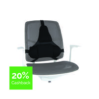 Fellowes Professional Series Ultimate Back Support Black 8041801