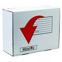 Missive Value Large Mailing Box (Pack of 20) FOC Cadbury Heroes Variety Bag BB810560