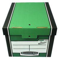 Fellowes Bankers Box Tall Storage Box Green Pack of 12 Buy 2 Get FOC Iderama Binders BB810566