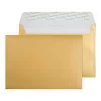 C5 Wallet Envelope Peel and Seal 130gsm Metallic Gold (Pack of 250) 313