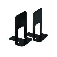 Large Deluxe Bookends Black One Pair (Pack of 2) BLO06914