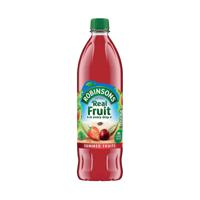 Robinsons No Added Sugar Summer Fruits Squah 1 Litre Pack of 1 206937