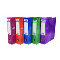 Elba A4 Lever Arch Files Assorted Colours (Pack of 10)