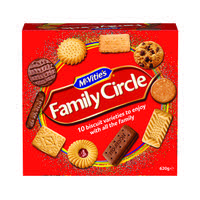 McVities Family Circle Biscuits 670g 35112