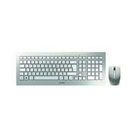 CHERRY DW 8000 SILVER WHITE WIRELESS KEYBOARD /& MOUSE SET AFFORDABLE QUALITY