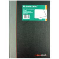 Collins Ideal A4 Book Double Cash 192 Pages 6424