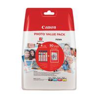 Canon CLI-581XL Black/Cyan/Magenta/Yellow Photo Value Pack 2052C004