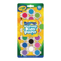 Crayola 18 Washable Kids Poster Paints CRY3281