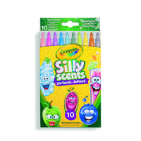 "Crayola Silly Scents 10 Count Markers /""WASHABLE/"" Updated edition w// /""PINEAPPLE/""!"